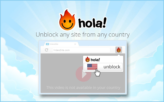 Hola Free VPN Proxy Unblocker - Chrome Web Store