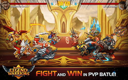 Legend Warriors: Epic Heroes Battle - PvP Game- screenshot thumbnail