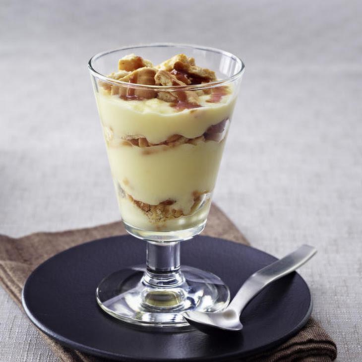 Vanilla and Chocolate Custard Dessert