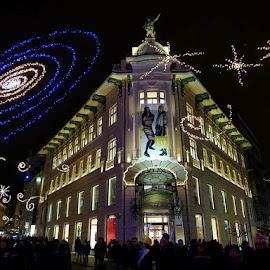 Advent in Ljubljana, Slovenia by Dražen Komadina - City,  Street & Park  Street Scenes ( advent in ljubljana, dražen komadina, slovenia )