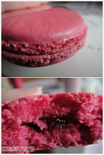 Starbucks Rose & Paspberry Macaron