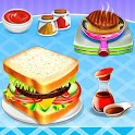 Sandwich And Fries Maker: Fast Food Cooking Games icon