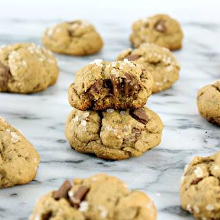 Salted Bourbon Chocolate Chunk Cookies