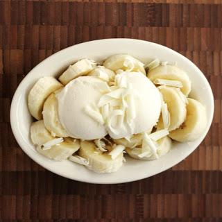 Banana Split with Irish Cream Ice Cream