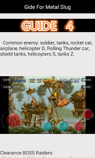 Guide For Metal Slug 1.8 androidappsheaven.com 4
