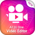 Video All in one Editor - Join,Cut,Watermark,Omit icon
