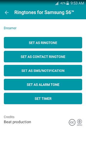無料音乐AppのサムスンS6™のための着メロ|記事Game