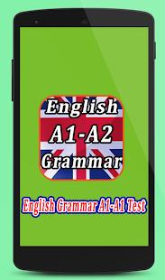 English Grammar Test A1-A2 - náhled