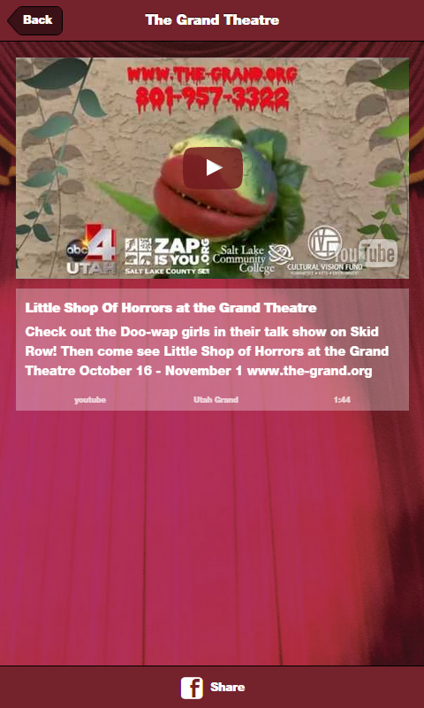 The Grand Theatre SLC- screenshot