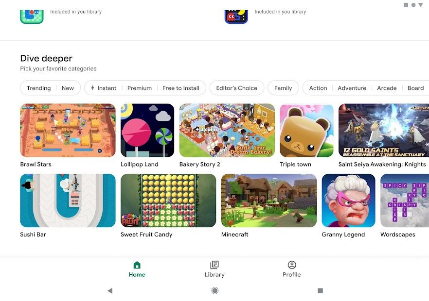 Screenshot - Google Play Games