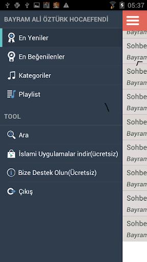 玩免費音樂APP|下載Bayram Ali Öztürk Hoca Efendi app不用錢|硬是要APP
