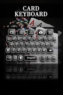 Card Keyboard Theme - náhled