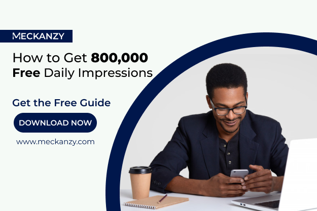 FREE eBook: How to Get 800,000 Daily Impressions without Spending on Ads