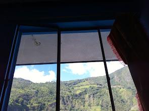 Photo: Meditation view from room 11, Hostal Transilvania, Baños de Agua Santa.