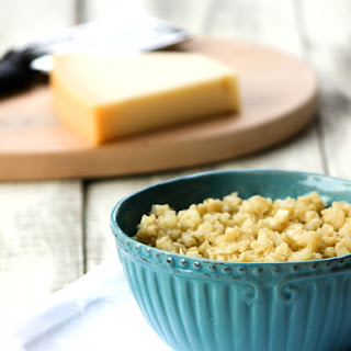 Cauliflower Crumbles with Parmesan and Garlic
