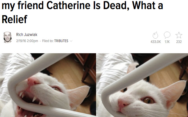 My Friend Catherine