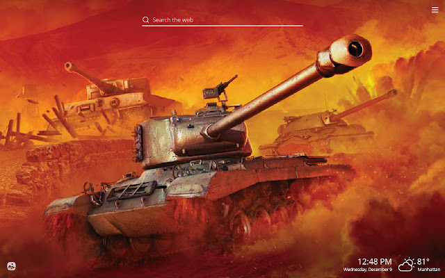 World of Tanks HD Wallpapers New Tab Theme