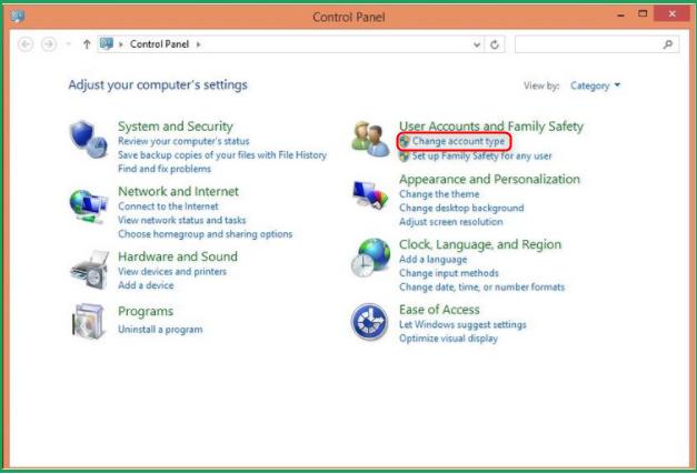 administrator login windows 8.1