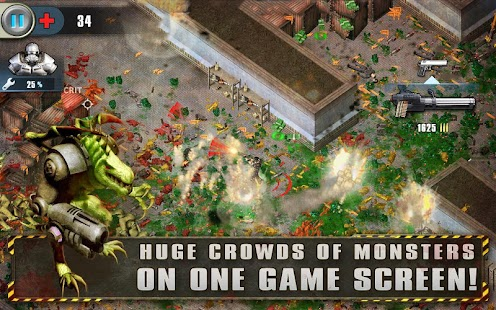 Alien Shooter Free- miniatura screenshot
