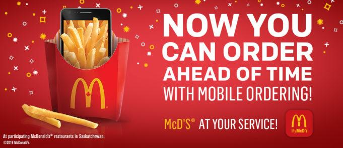 The original McDonald's ad.