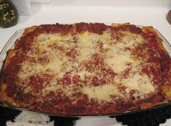 Lasagna My Way
