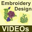 Embroidery Design VIDEOs icon