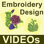Embroidery Design VIDEOs