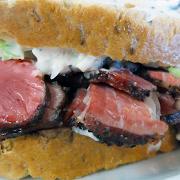 #1 Hot Pastrami (Full Sandwich)