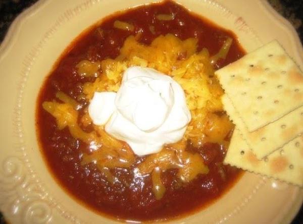 Aunt Bobye's Chili~robynne Recipe