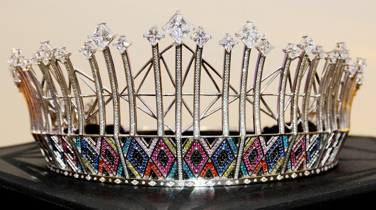 A closer look at the design of the Miss SA uBuhle crown.