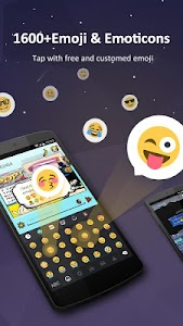 GO Keyboard Pro - Emoji, GIFs screenshot 1
