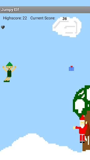 Jumpy Elf's Santa Dodge