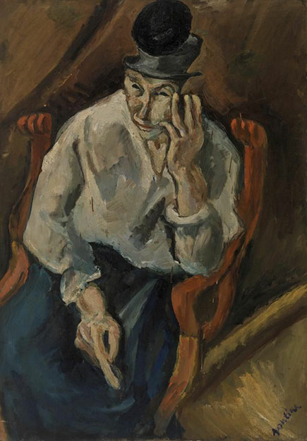 Хаим Сутин. Женщина в кресле.