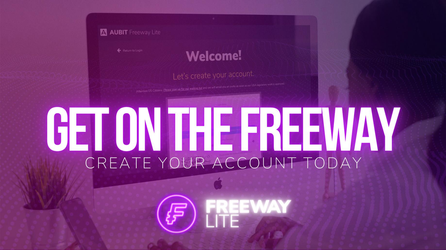 Blog AuBit Freeway Lite Create Account