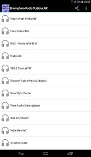 Birmingham-Radio Stations, UK - náhled