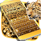 Keyboard Background Cheetah