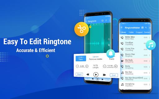 Ringtone Maker - Mp3 Editor & Music Cutter 2.3.6 screenshots 1