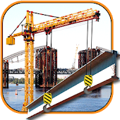 Bridge Construction Crane Op
