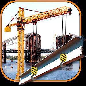 Bridge Construction Crane Op for PC and MAC