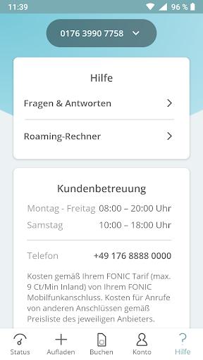 FONIC mobile screenshot 6