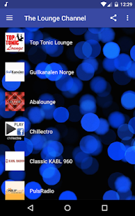 THE LOUNGE CHANNEL MOD APK LIVE RADIOS CHILL OUT,DOWNLOAD FREE 2020 1