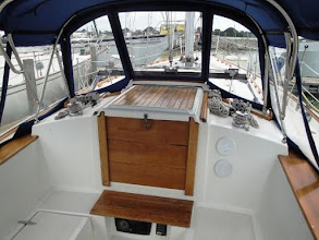 Photo: Image of cockpit looking forward from pre-purchase listing of Pilgrim.