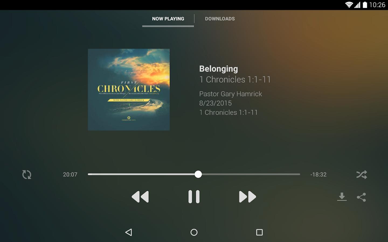Cornerstone Chapel- screenshot