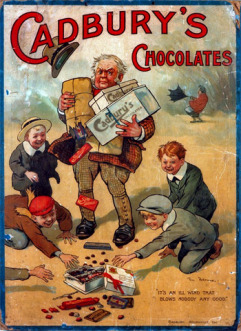 Figure 5. Example of an early Cadbury Chocolate Advertisement