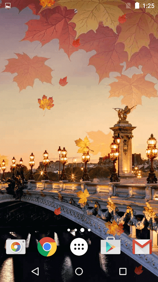What Is Falling Action Of The Yellow Wallpaper Autumn In Paris Live Wallpaper Android Apps On Google Play