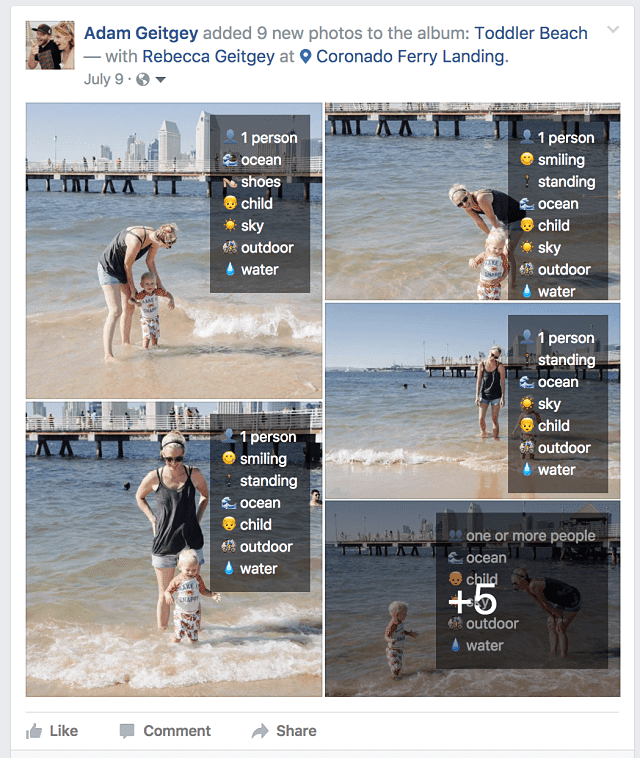 Descubre en solo 3 pasos lo que Facebook es capaz de identificar en tus fotografías