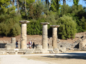Photo: 5th & 4th century B.C. ruins at the site of the Olympic Games.