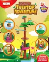 Journey into a one-of-a-kind play course with Jolly Treetop Adventure