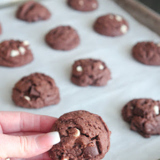 Hot Chocolate Pudding Cookies.