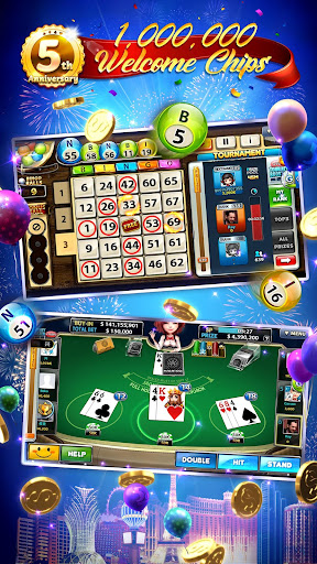 Full House Casino - Free Vegas Slots Casino Games android2mod screenshots 2